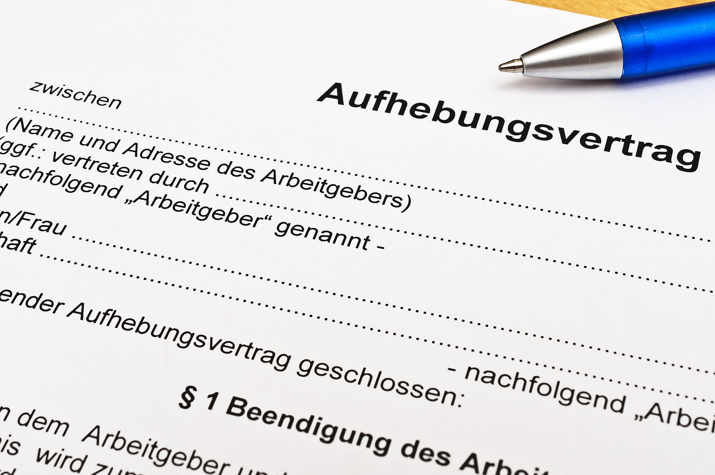Aufhebungsvertrag Ist Kein Hausturgeschaft Dgb Rechtsschutz Gmbh