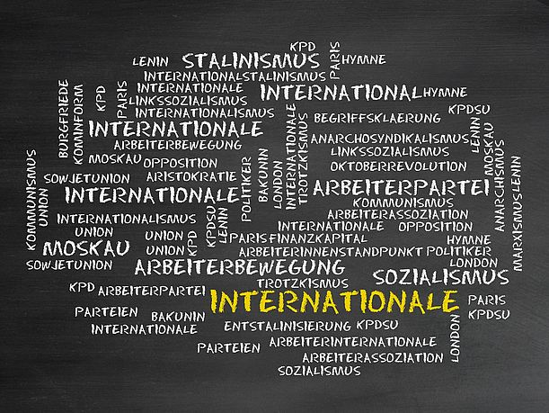 Die internationale Solidarität der Arbeiterklasse war Illusion. Copyright by CrazyCloud/ Fotolia.