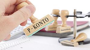 P-Konto schützt vor Kontopfändungen