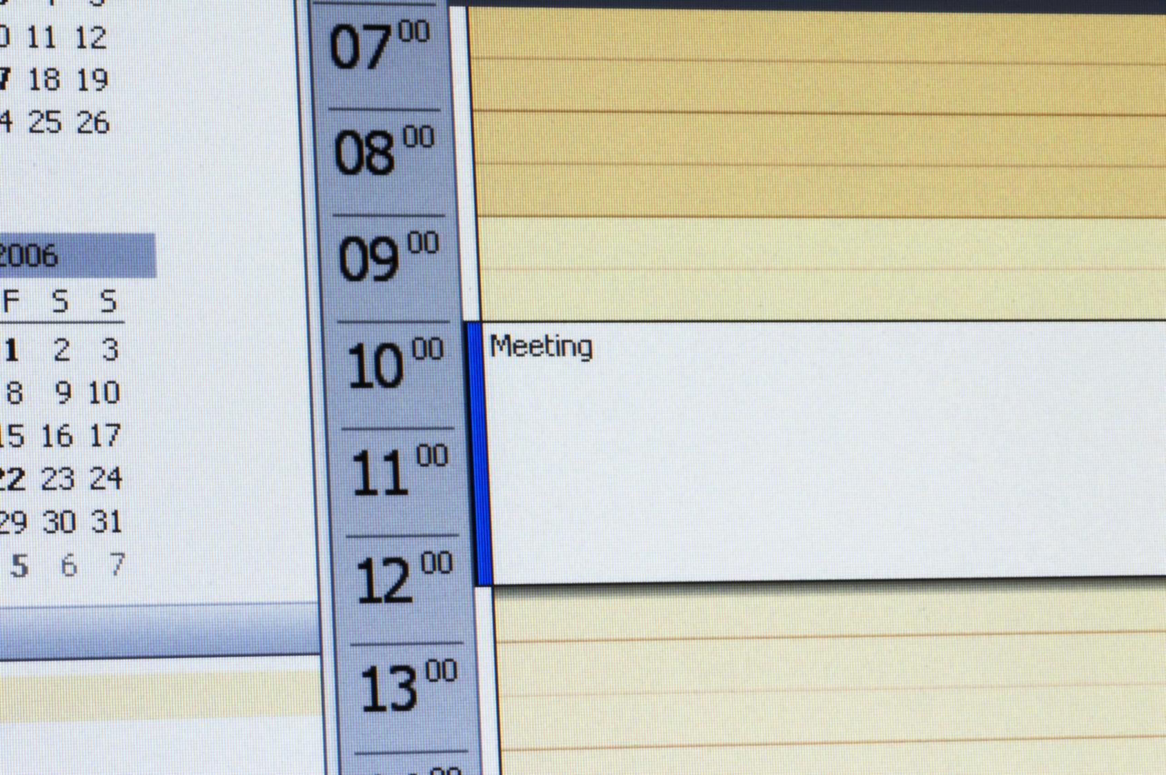 Elektronischer Gruppenkalender Ohne Mitbestimmung Des Betriebsrates