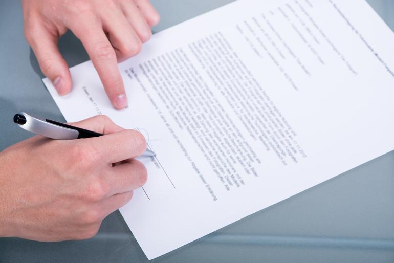 Auf Deutsche Sprachkenntnisse Kommt Es Bei Der Unterzeichnung Eines