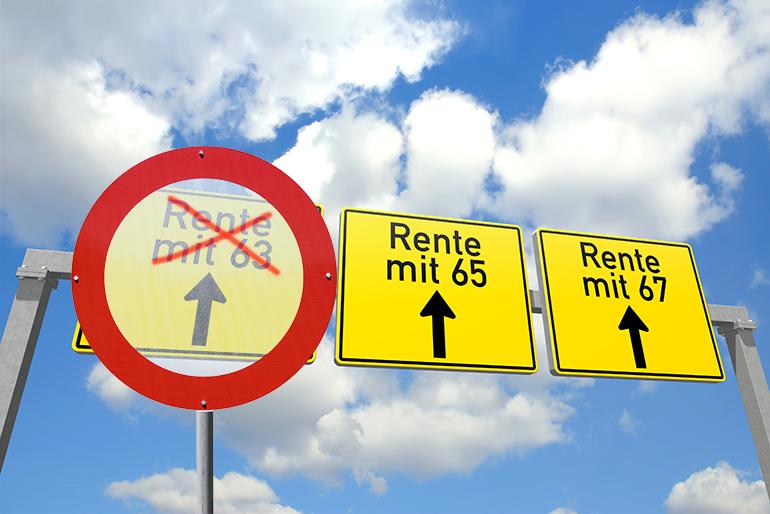 Einschränkungen Bei Der Neuen Rente Mit 63 Rechtmäßig Dgb