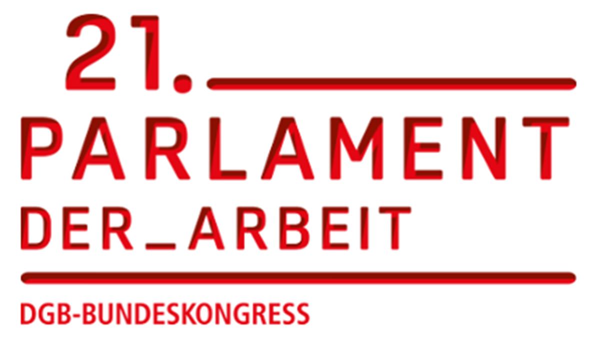 Bildergebnis für fotos vom 21. parlament der arbeit dgb