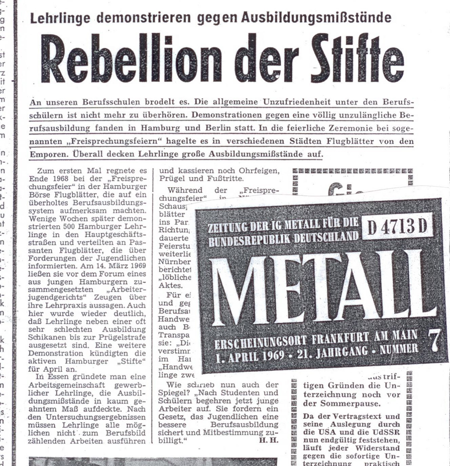 Rebellion der Stifte